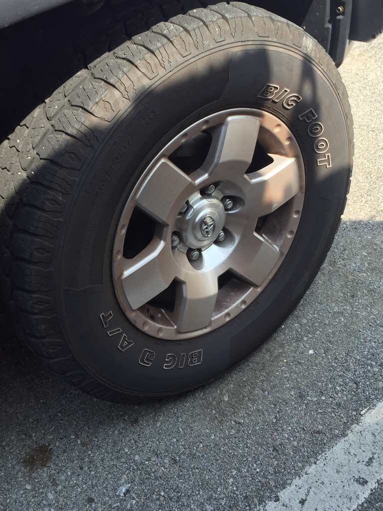 Ebc Brake Pads >> For Free: 2008 OEM Rims with Tires and TPMS - Toyota FJ ...