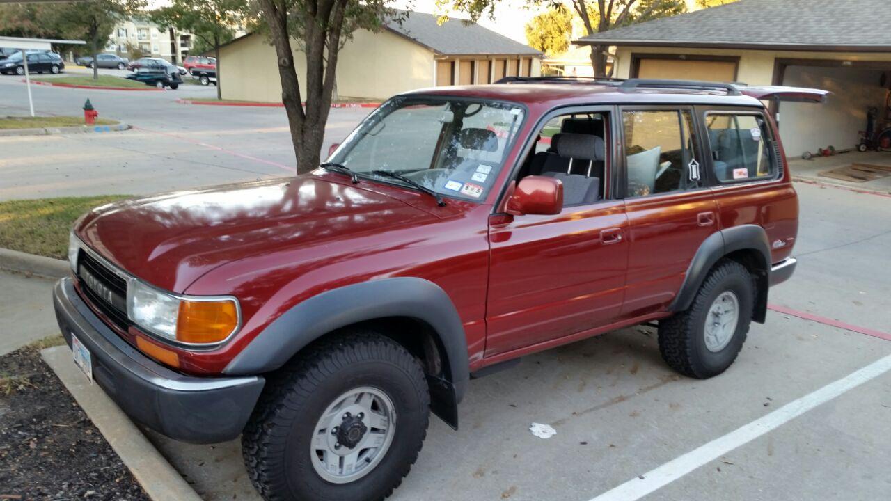 Texas 1991 Land Cruiser 80 Series Toyota Fj Cruiser Forum