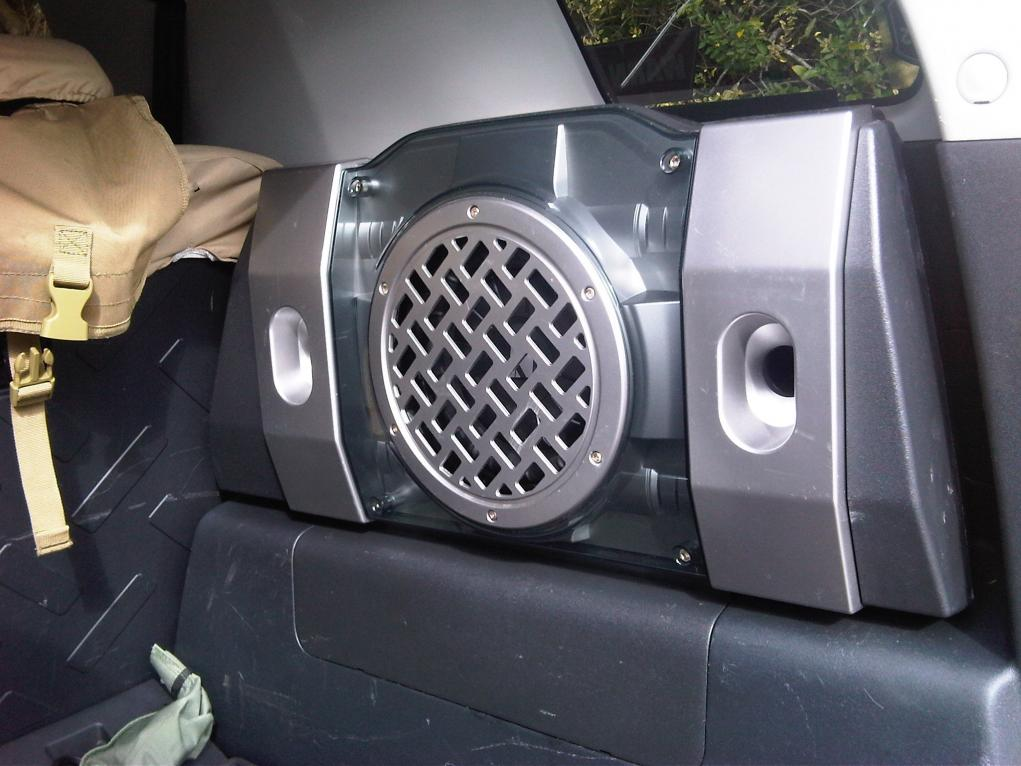 Toyota Fj Cruzer >> FJ OEM SUBWOOFER BOX modified 2007-2010 - Toyota FJ Cruiser Forum
