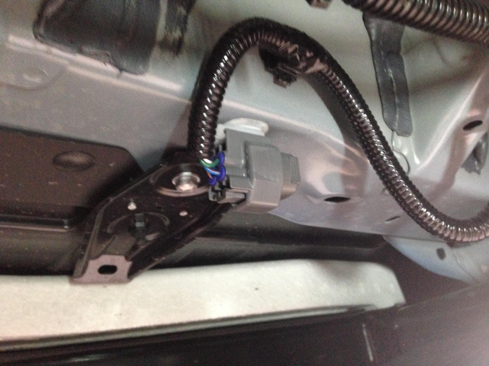 Where is the trailer connector?? | Toyota FJ Cruiser ForumFJ Cruiser Forum