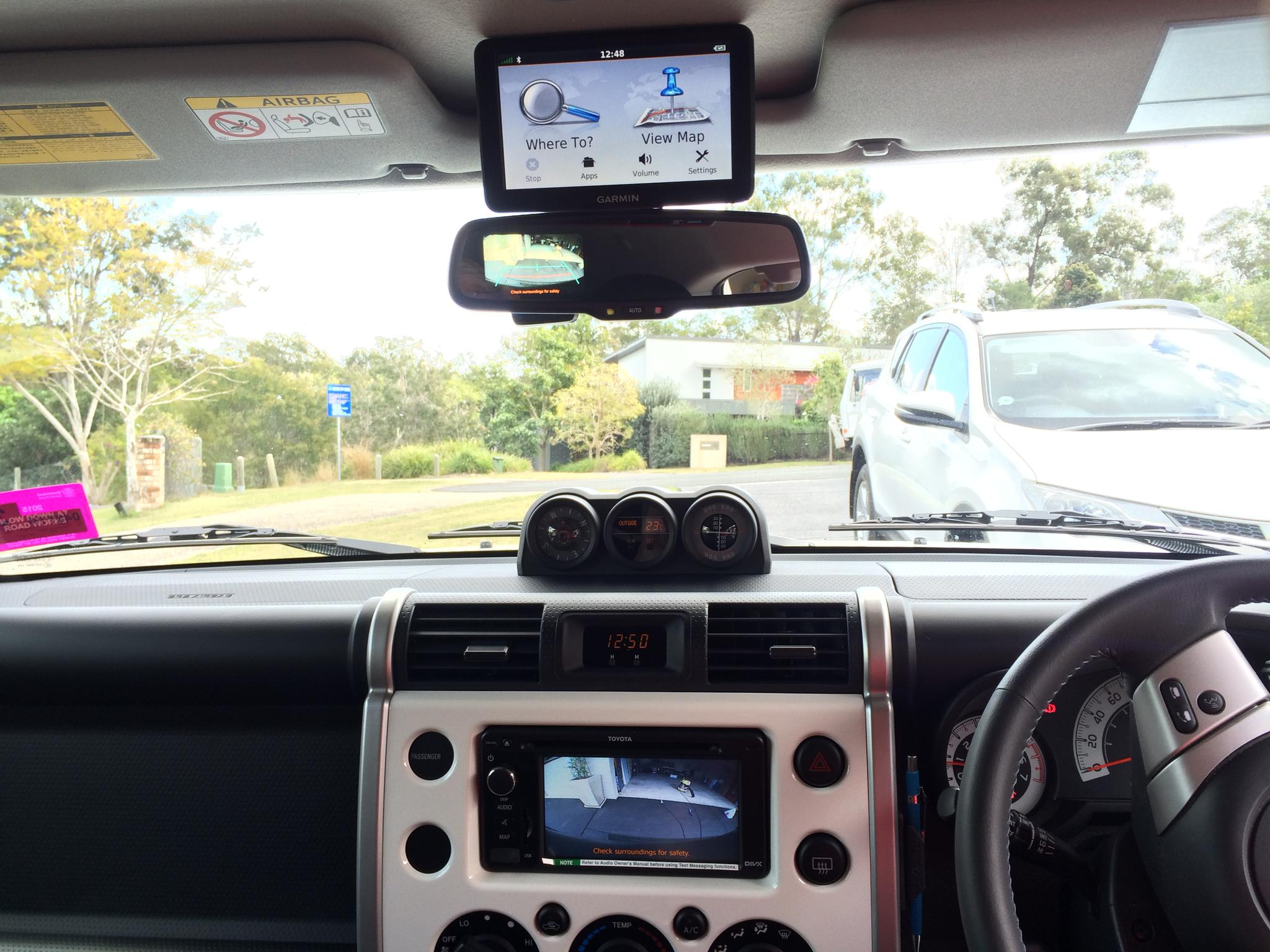 Using Stock Backup Camera W Aftermarket Nav System Page