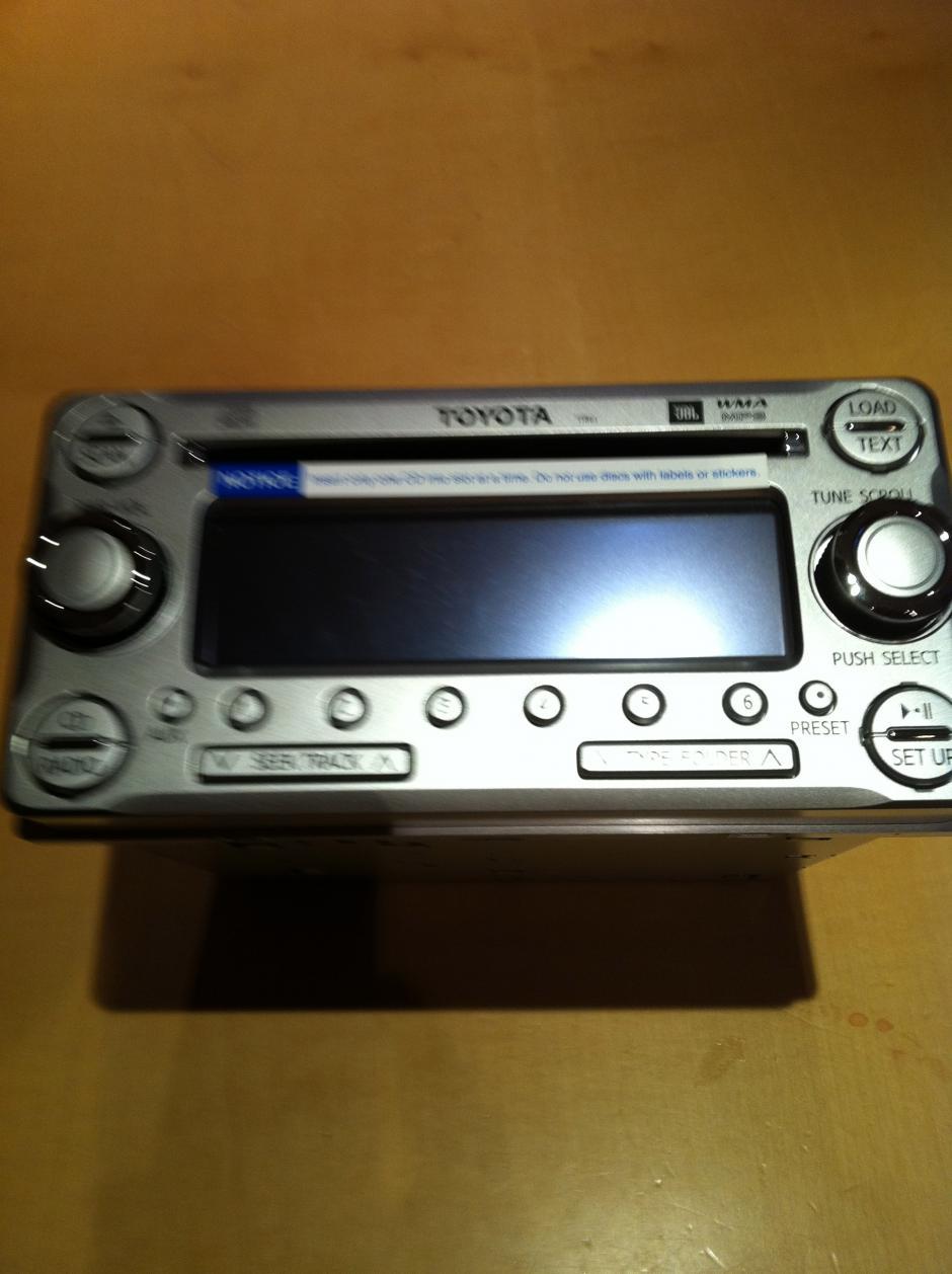 Used Fj Cruiser >> JBL 6 Disc CD Stereo FOR SALE - Toyota FJ Cruiser Forum