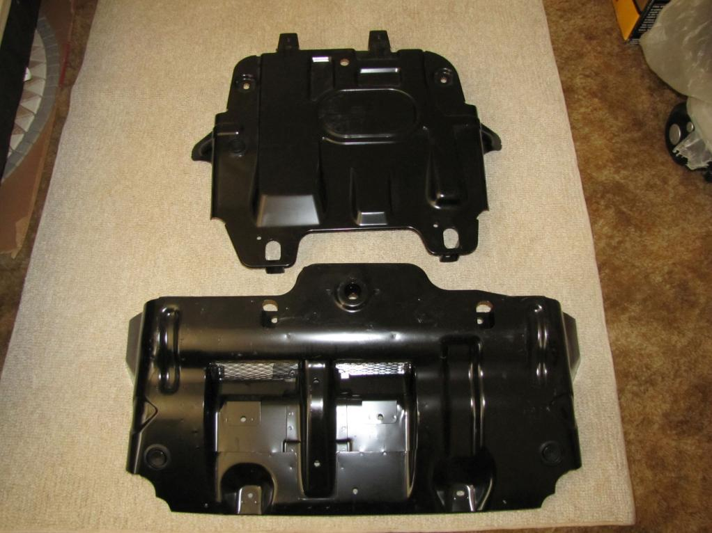 Used Fj Cruiser >> FJ Cruiser Factory Engine and Transmission Skid Plates ...