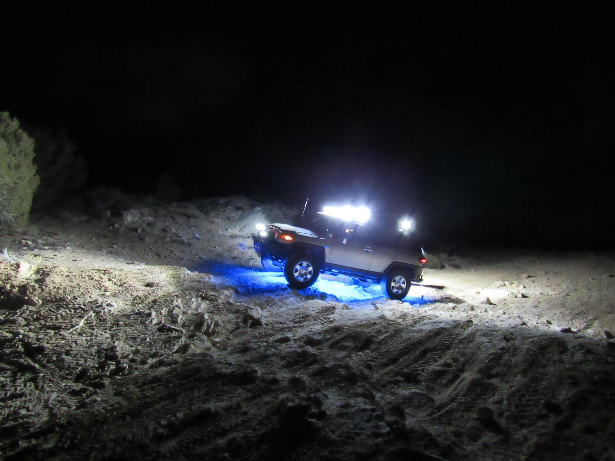 LED light bars and All around spot lights - Toyota FJ Cruiser Forum