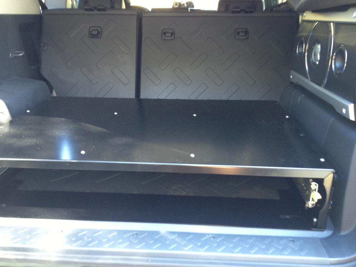 Springtail Mpac Fj Cruiser Drawer Installed Toyota Fj