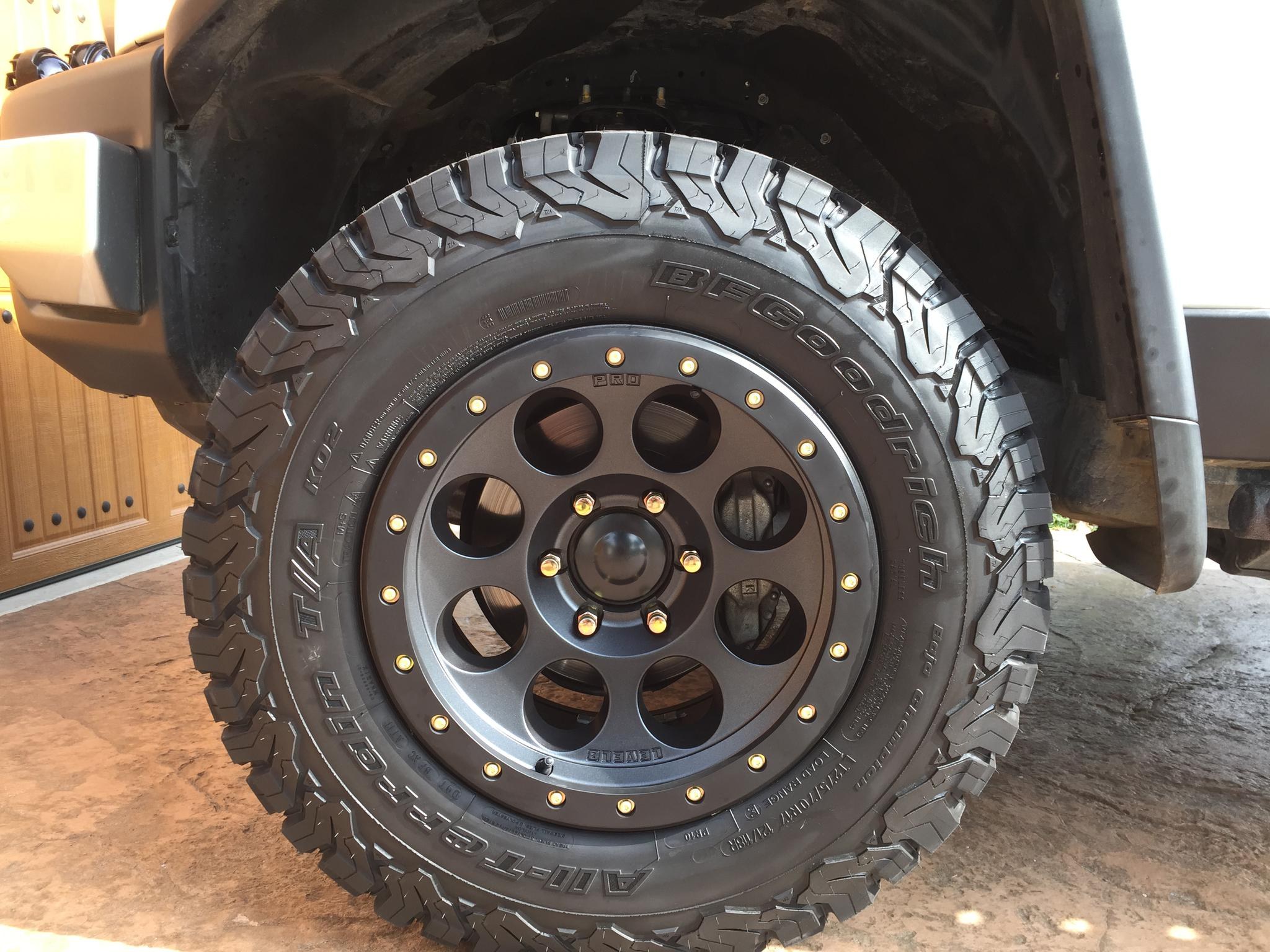 Bfg Releases The Bfg T A Ko2 All Terrain Page 14 Toyota Fj