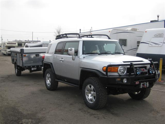 Anyone Pulled A Tent Camper With Fj Page 2 Toyota Fj