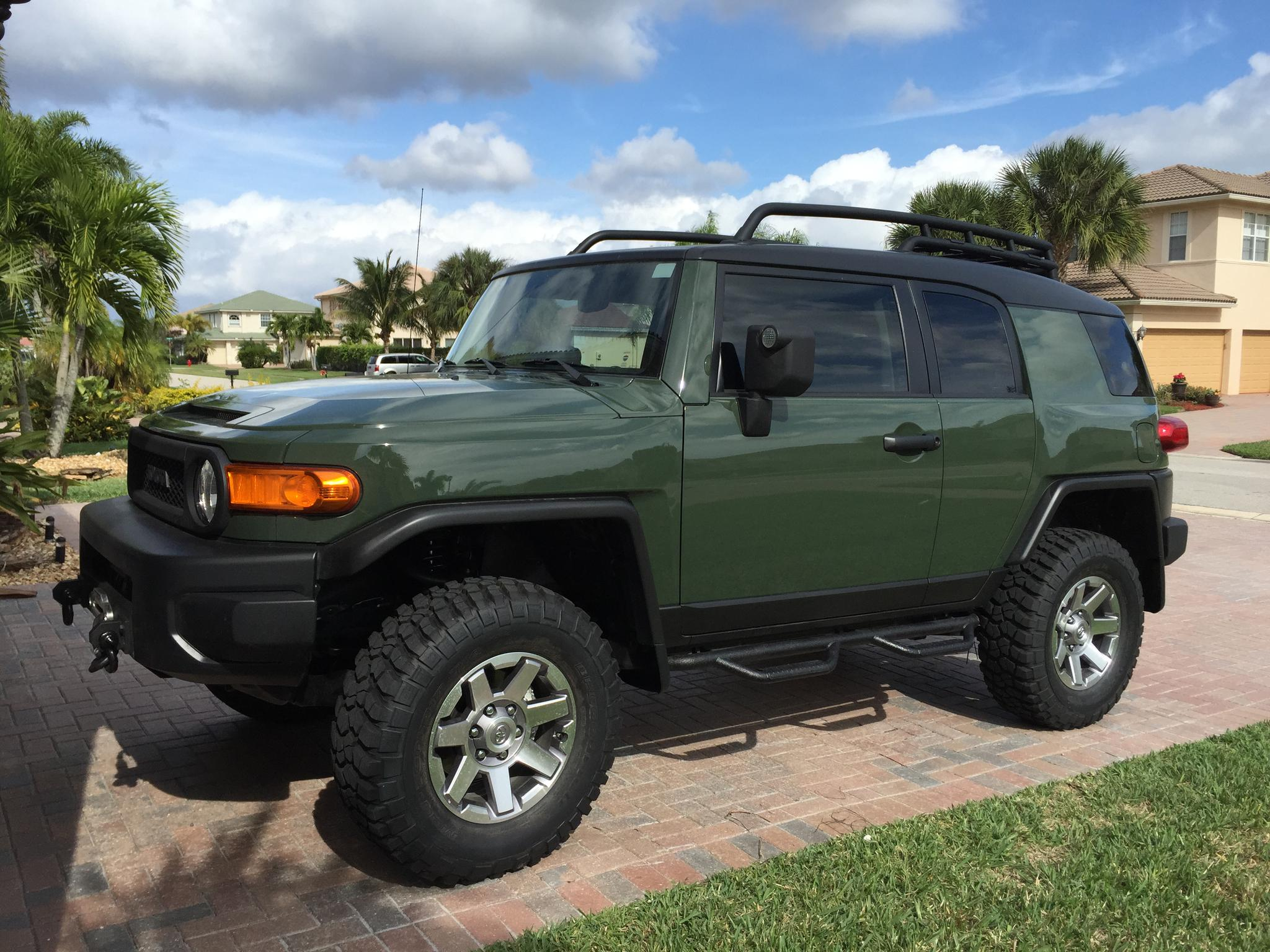New 2014 Army Green 4wd Fj Toyota Fj Cruiser Forum