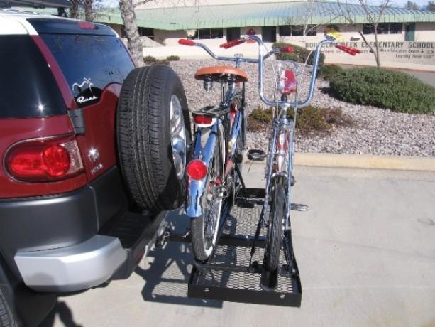 Home Made Bike Rack For My Fj Toyota Fj Cruiser Forum