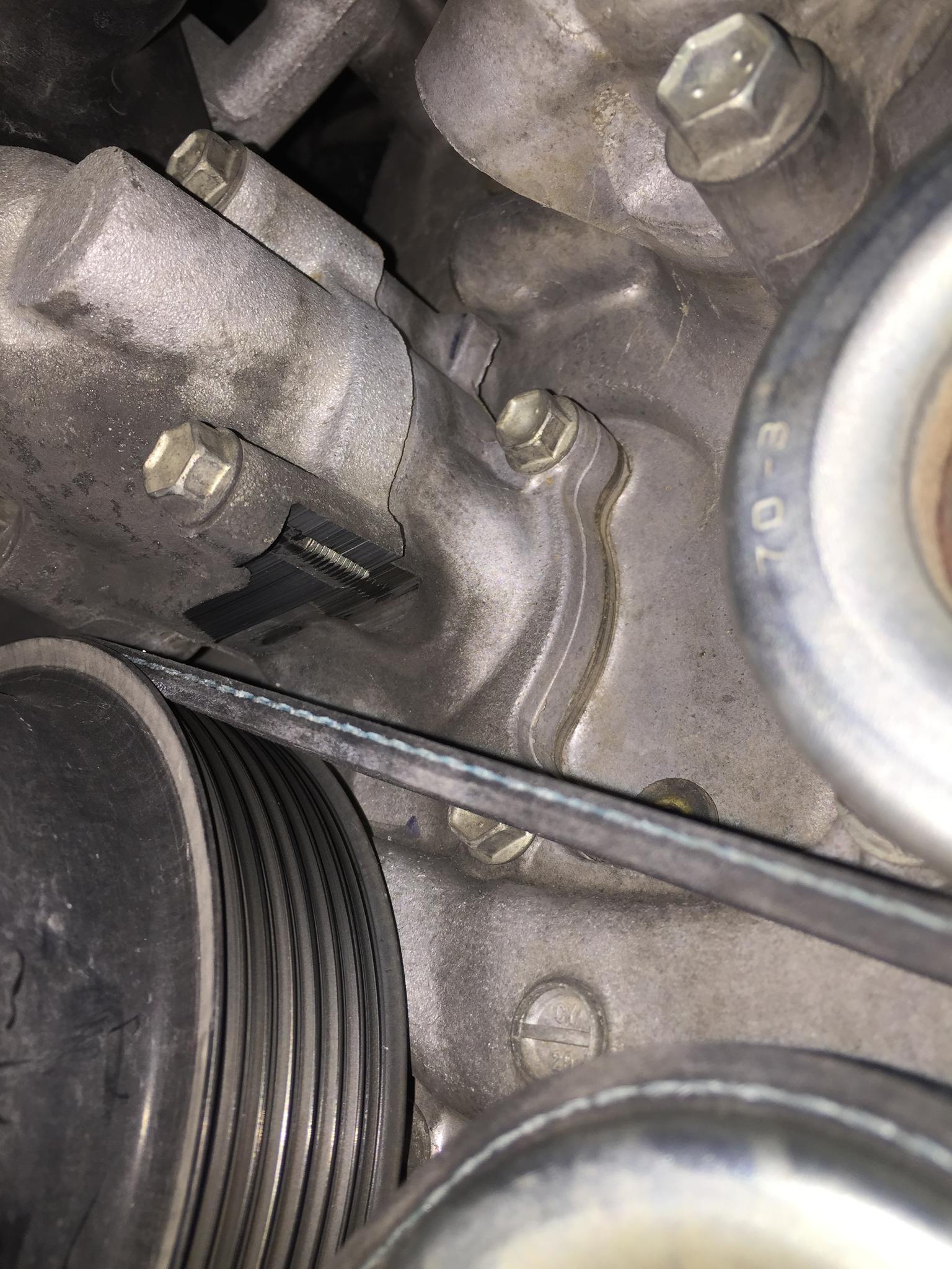 Must Read! Serpentine Belt Defect/Installation Problem