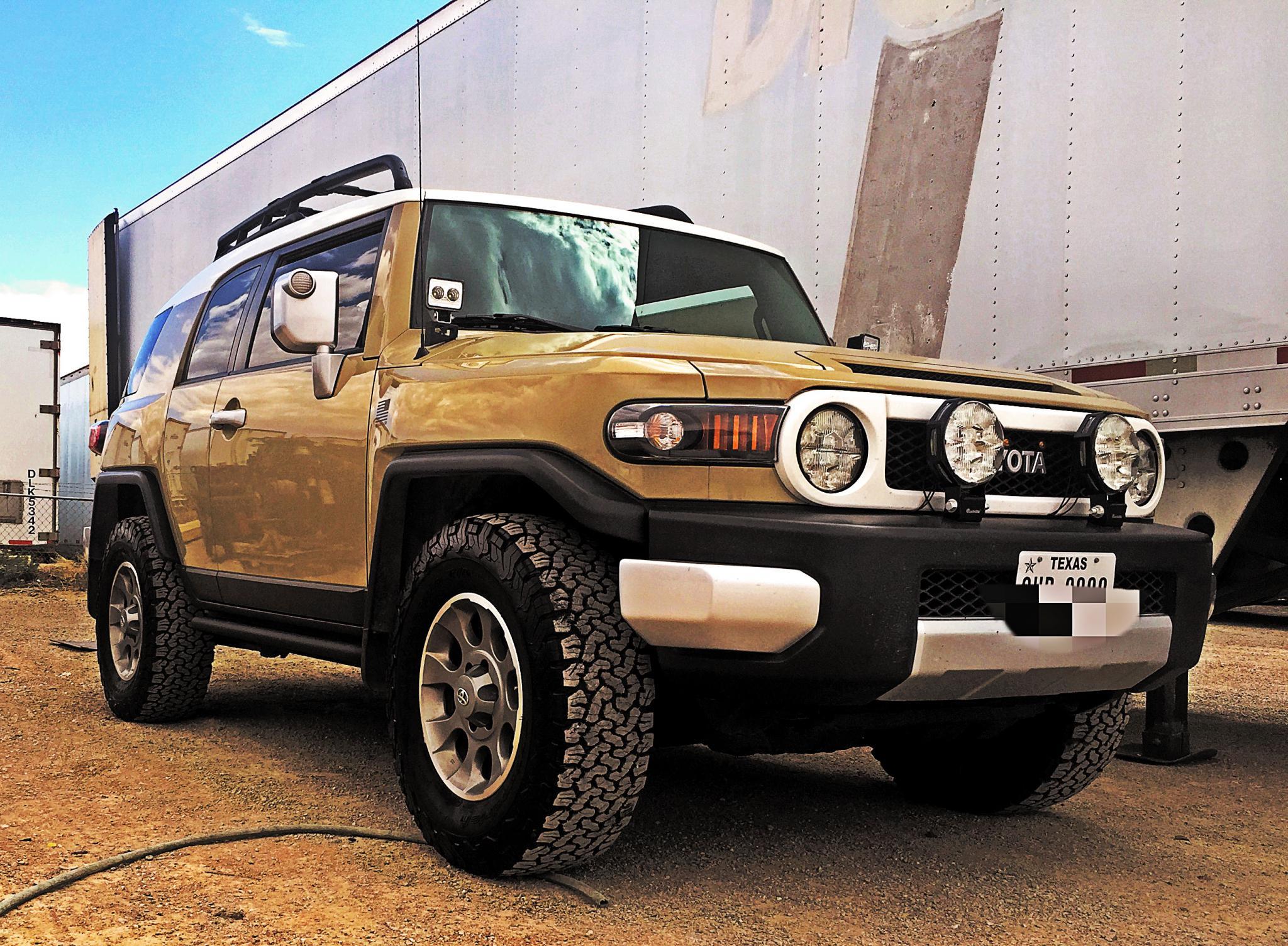 jeep led headlight retrofit toyota fj cruiser forum. Black Bedroom Furniture Sets. Home Design Ideas