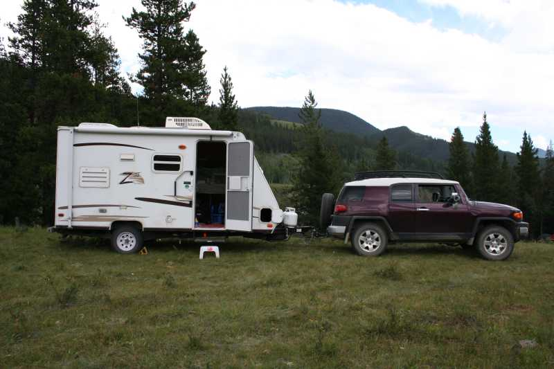 Can You Pull A Trailer Behind A Travel Trailer