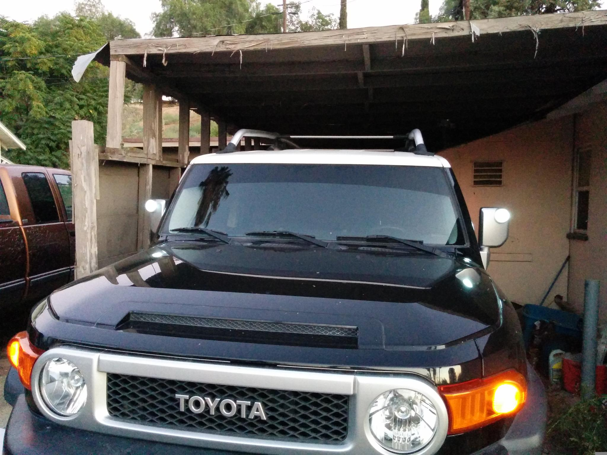 Video How To Install Fj Cruiser Mirror Light Leds Great