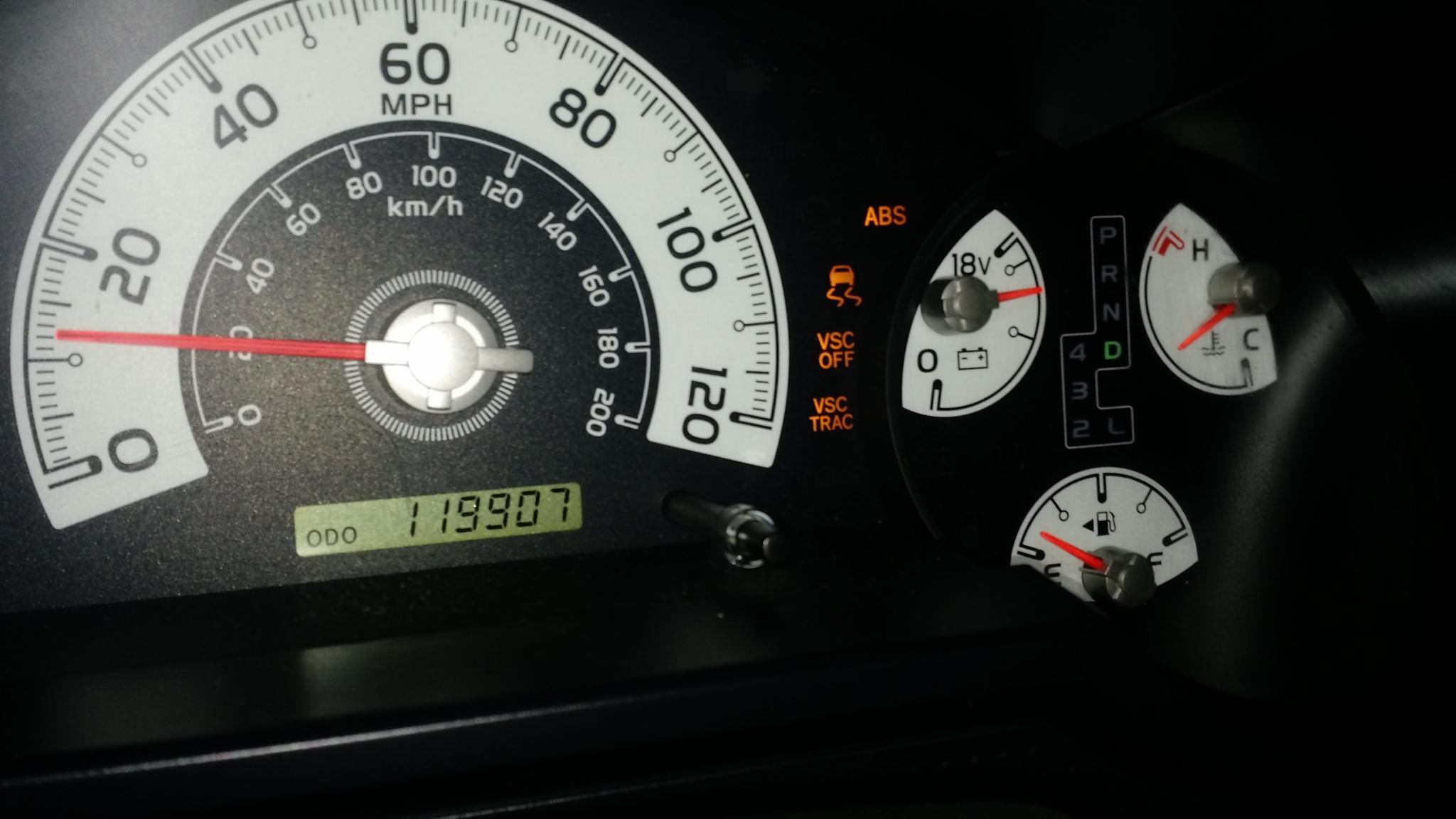warning lights? ABS/VSC/TRAC - Toyota FJ Cruiser Forum