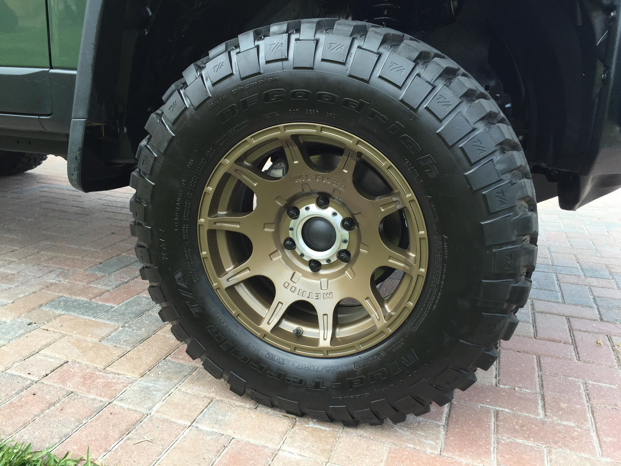 Method Roost Wheels - Page 3 - Toyota FJ Cruiser Forum