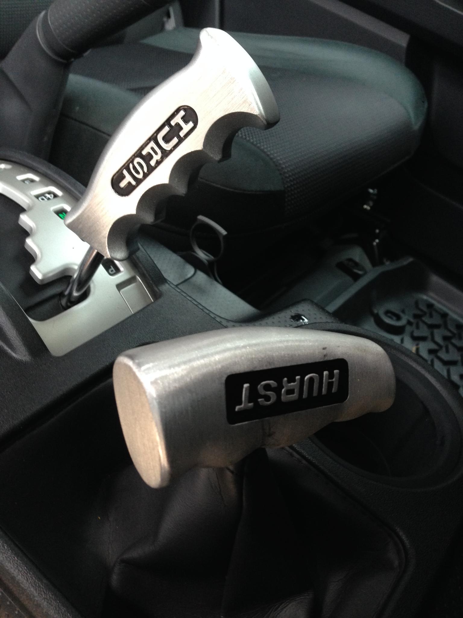 Lets see them custom SHIFT KNOBS - Page 3 - Toyota FJ