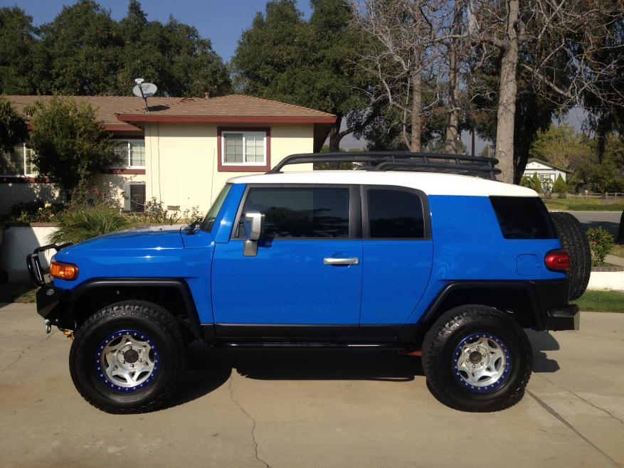 2007 Fj Voodoo Blue Best Of Everything Toyota Fj Cruiser