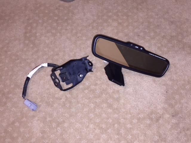 Oem Backup Camera W Assembly And Mirror Lcd Toyota Fj