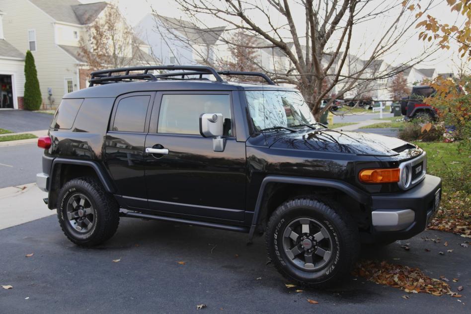 2007 Trd Edition Fj Cruiser Black On Black Toyota Fj