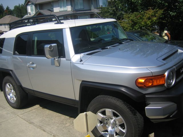 Winter Tires Vancouver >> 2007 Silver Toyota FJ Cruiser-B-PKG (Vancouver BC) - Toyota FJ Cruiser Forum