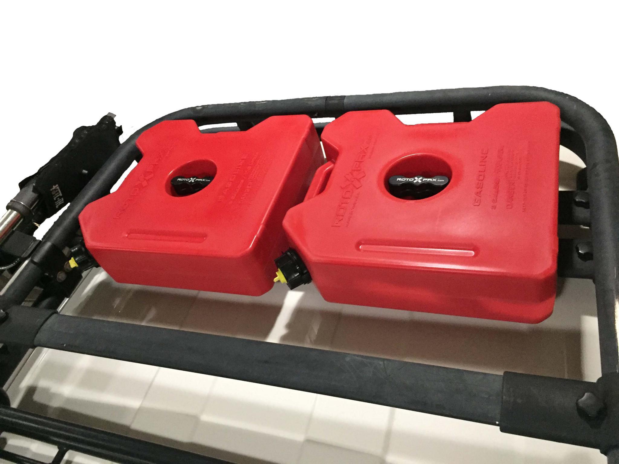 Rotopax Install Oem Roof Rack Toyota Fj Cruiser Forum