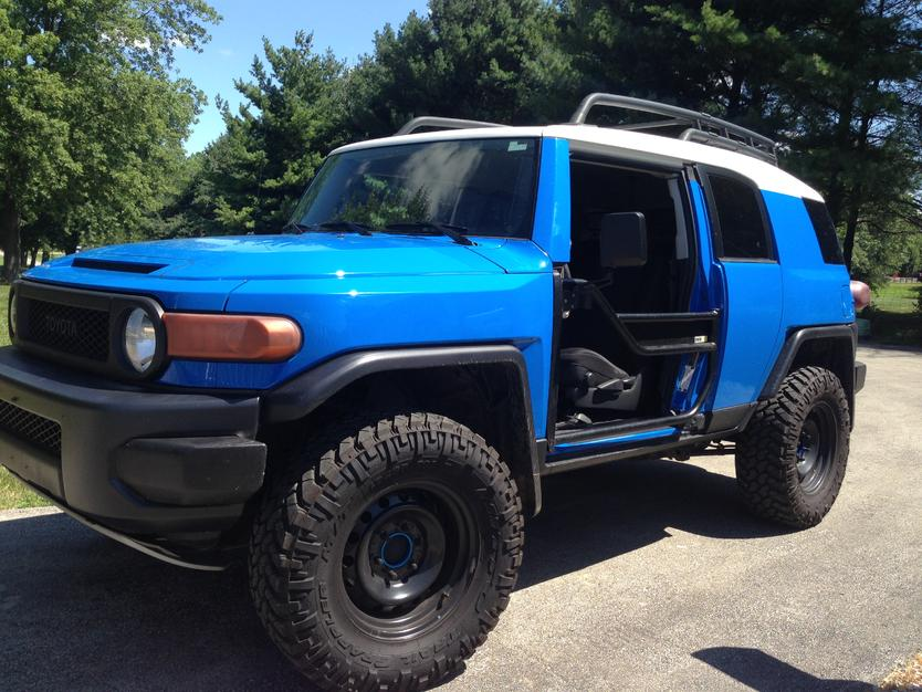 Click image for larger version Name IMG_6234.jpg Views 3349 Size 97.8 ... & Metal Tech Tube Doors Installed - Toyota FJ Cruiser Forum