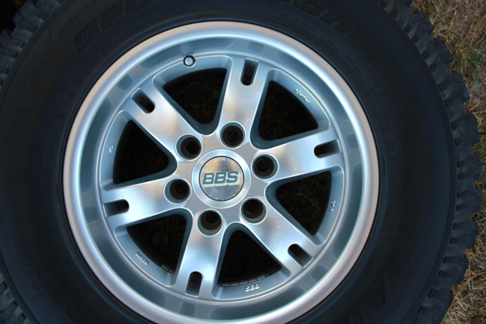 "Toyota Fj Cruiser For Sale >> FS: 4 used Toyota BBS 17"" wheels - Toyota FJ Cruiser Forum"