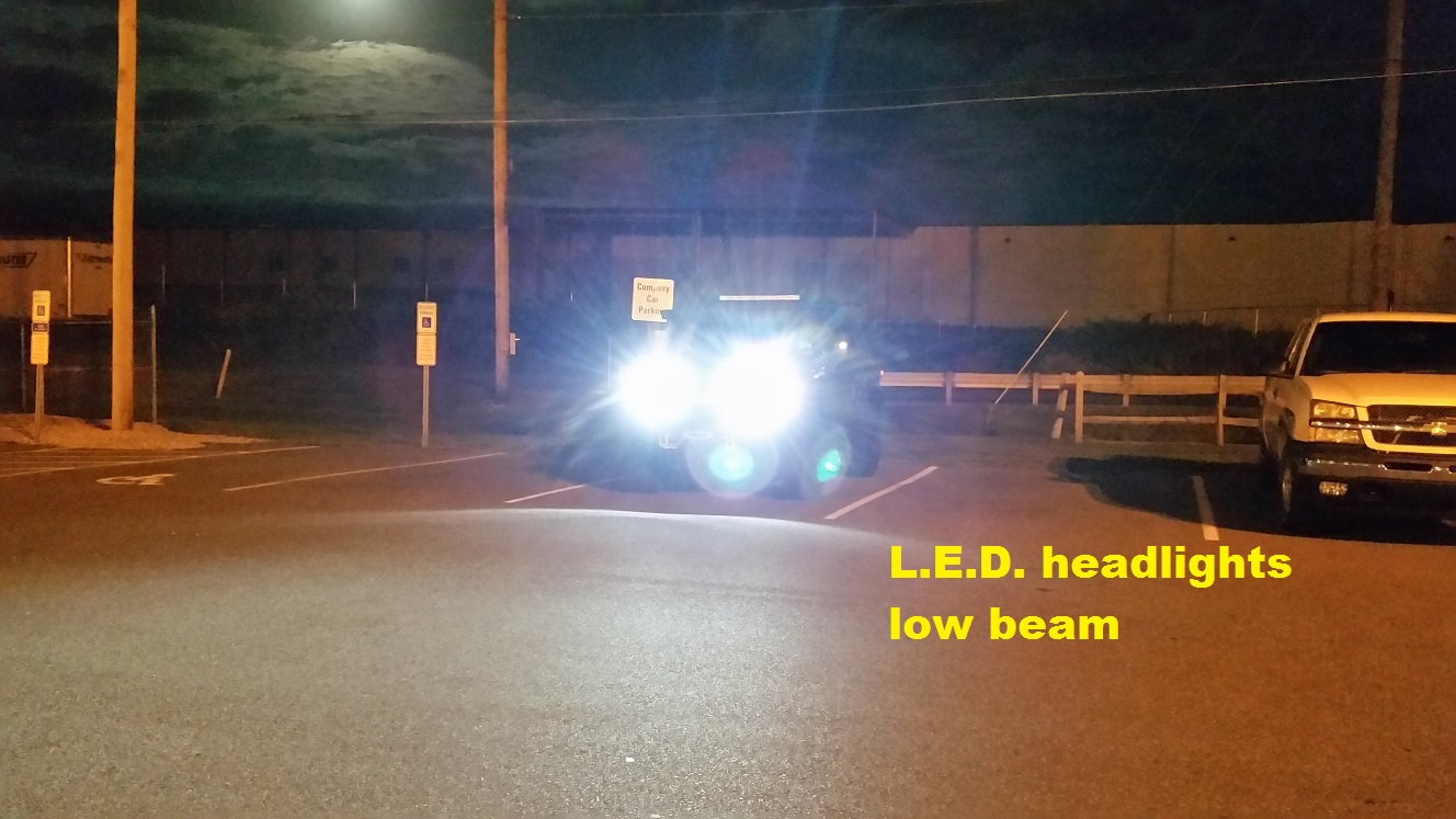 Superb ... Click Image For Larger Version Name: LED Lights At Night 2 A Views  ... Great Ideas