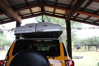 Name Maggiolina rear view.jpg Views 3173 Size 36.9 KB & Maggiolina AirLand Roof Top Tent - Page 5 - Toyota FJ Cruiser Forum