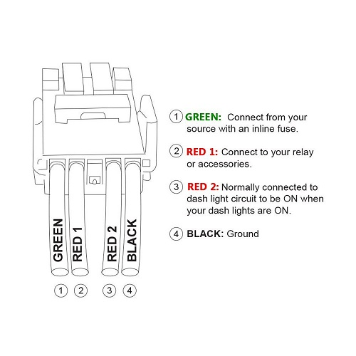 Need wiring help with light bar wiring harness | Toyota FJ ... on