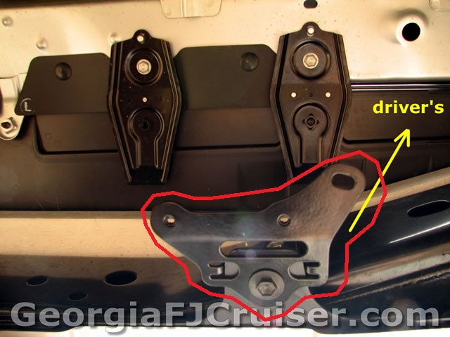 missing under bumper wiring bracket?? toyota fj cruiser forum  toyota fj cruiser towing wiring harness #12