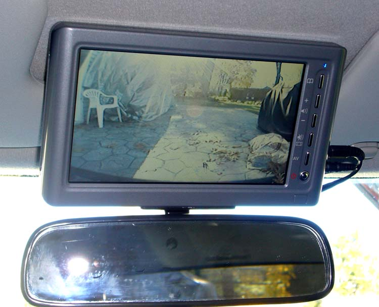 Backup Camera Monitor 7 Inch Toyota Fj Cruiser Forum
