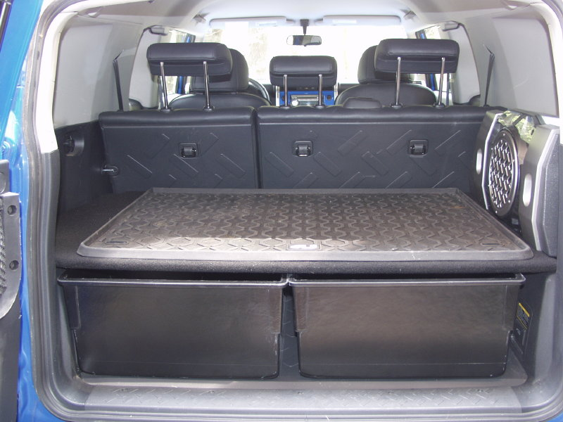 A Near Perfect Rear Storage Solution For Under 150