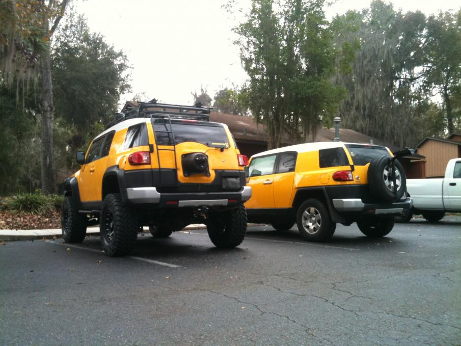 Fabtech or rough country 6 inch lift - Page 2 - Toyota FJ ...