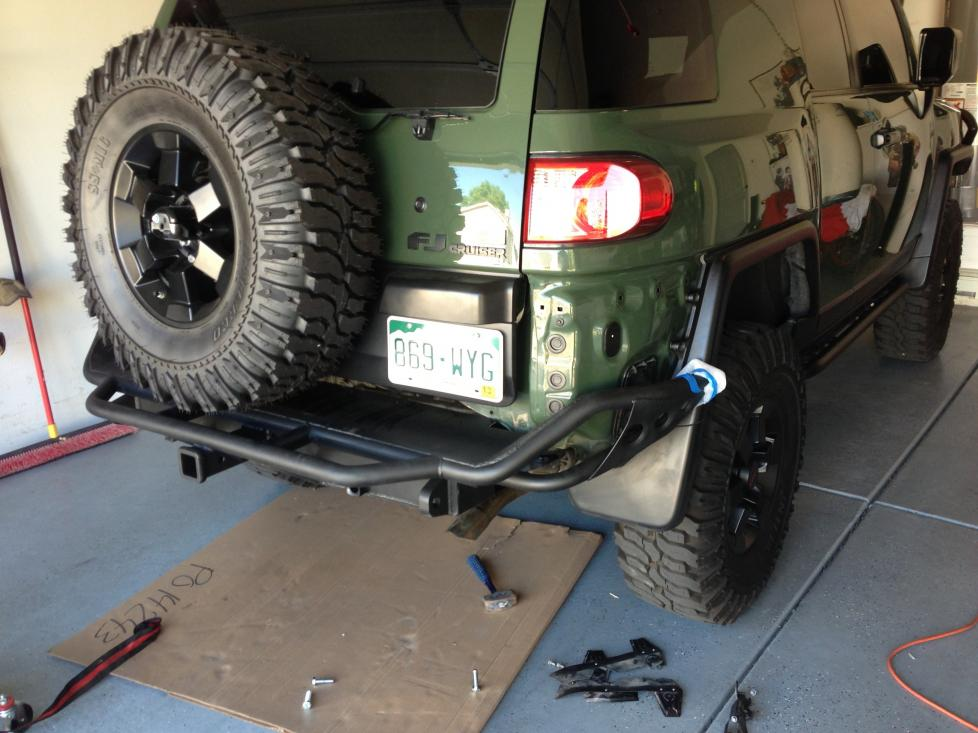 Toyota Fj Cruiser Forum View Single Post Land Cruiser Nw Rear Bumper For Sale