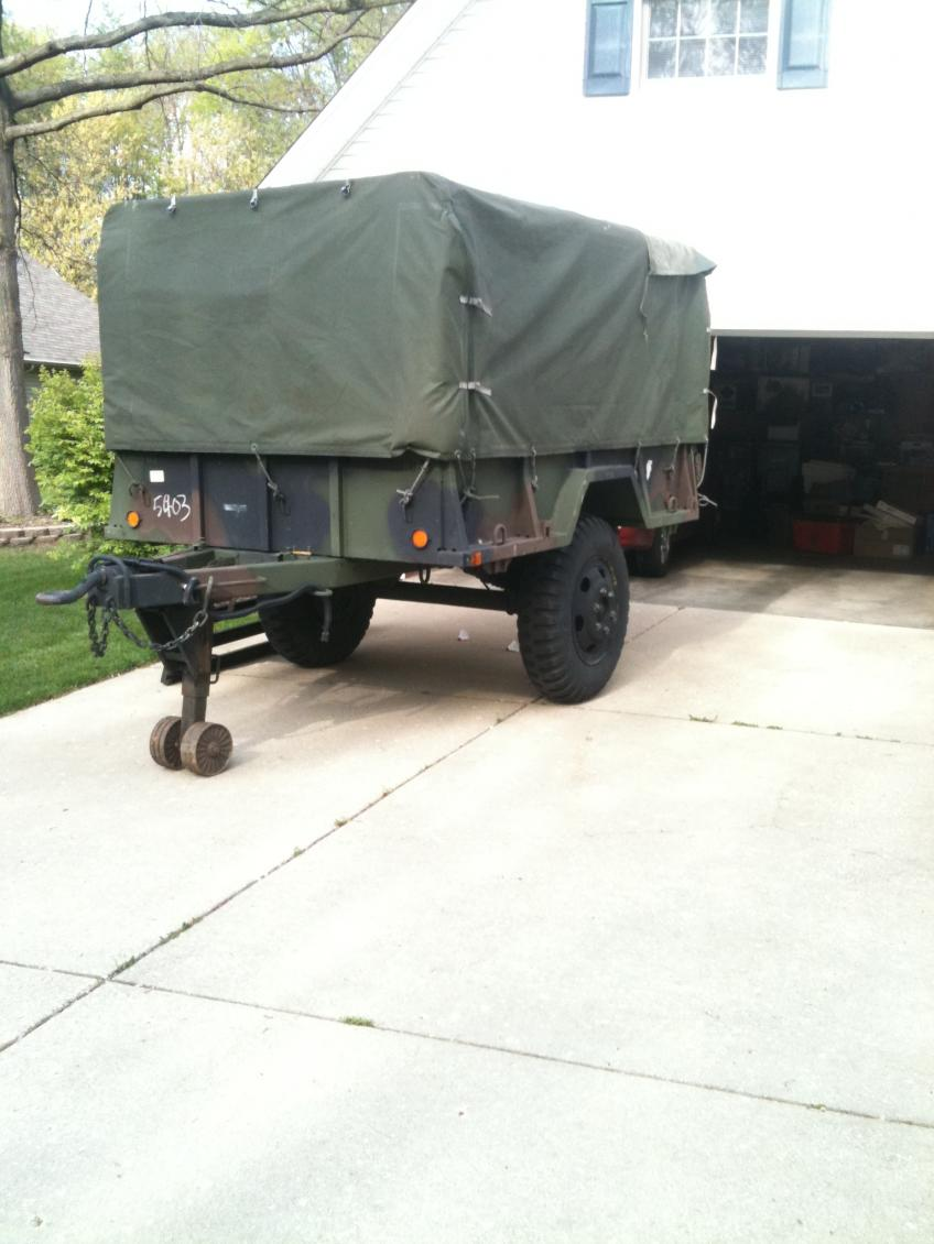 M105 Military Trailer Wiring Diagram Free Download Diagrams Custom Mulitary Tractor On M416 For Remarkable