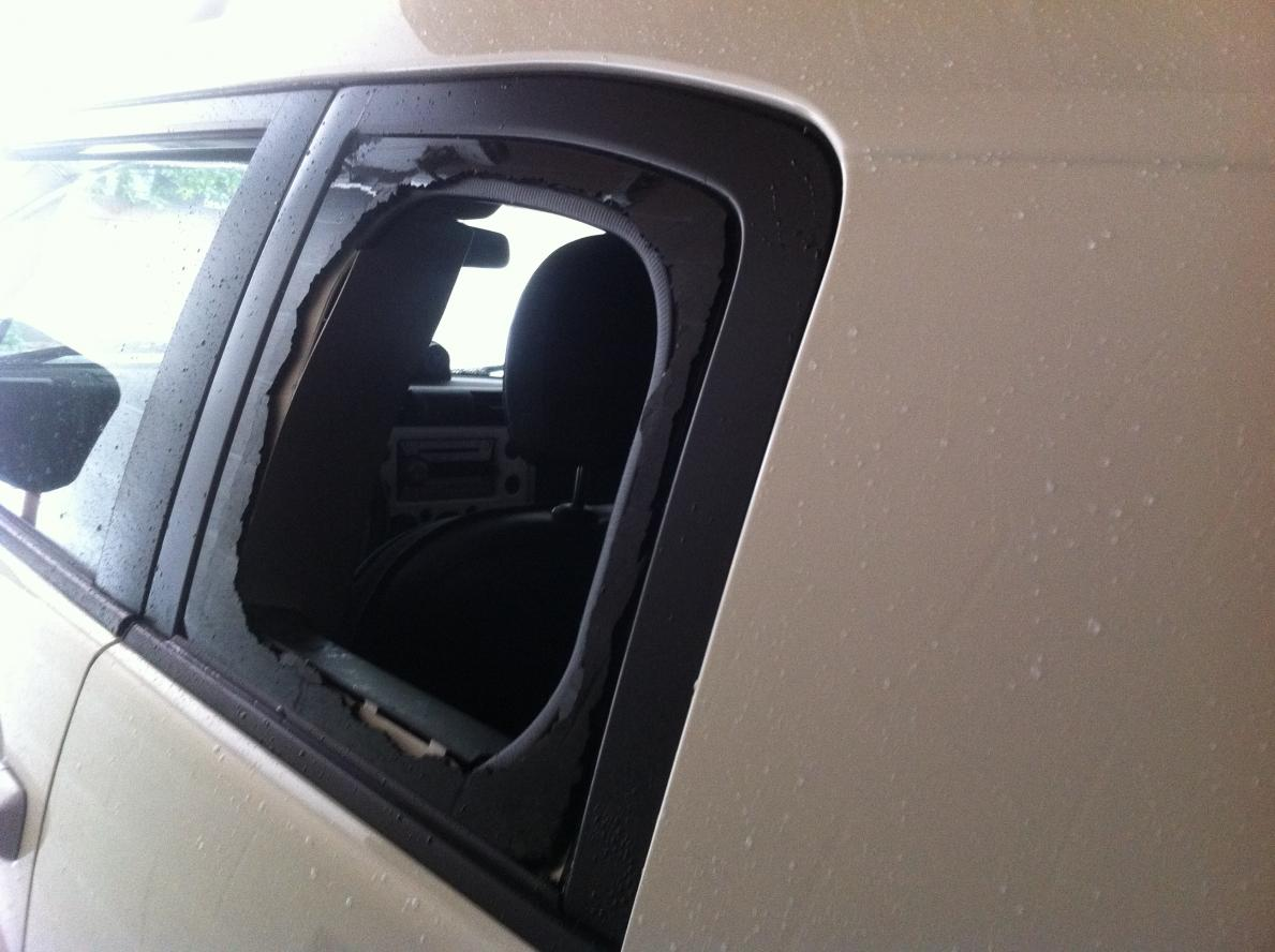 Part Number To Replace Rear Driver Side Door Window Due To