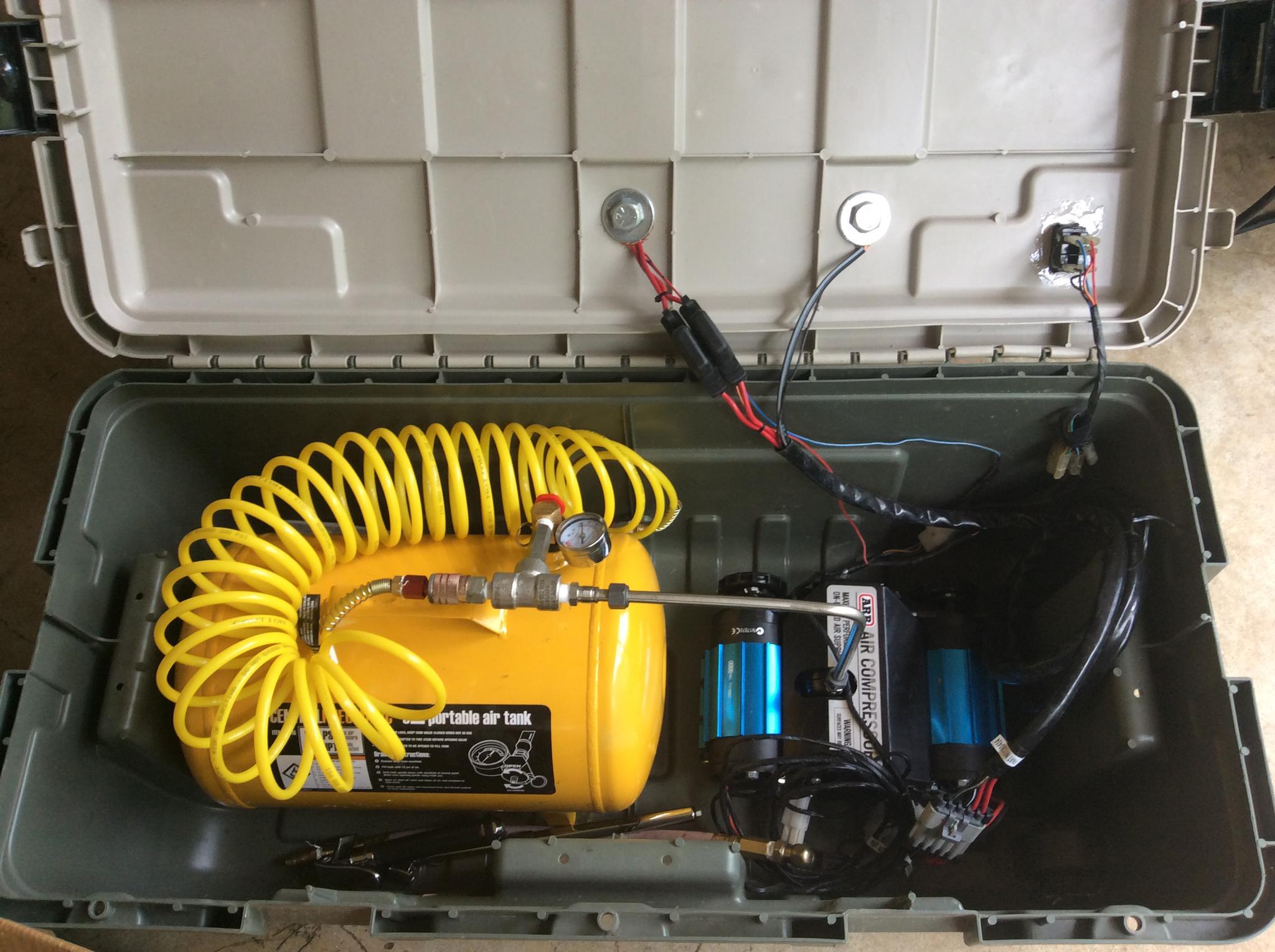 Used Toyota Fj Cruiser >> ARB Twin Compressor Install - Toyota FJ Cruiser Forum