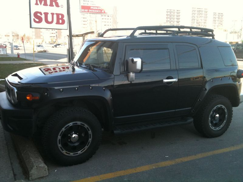 Used Fj Cruiser >> my 2008 C package Blacked Out - Toyota FJ Cruiser Forum