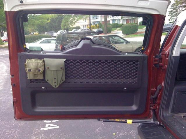 Need Ideas Trunk Door Storage Toyota Fj Cruiser Forum
