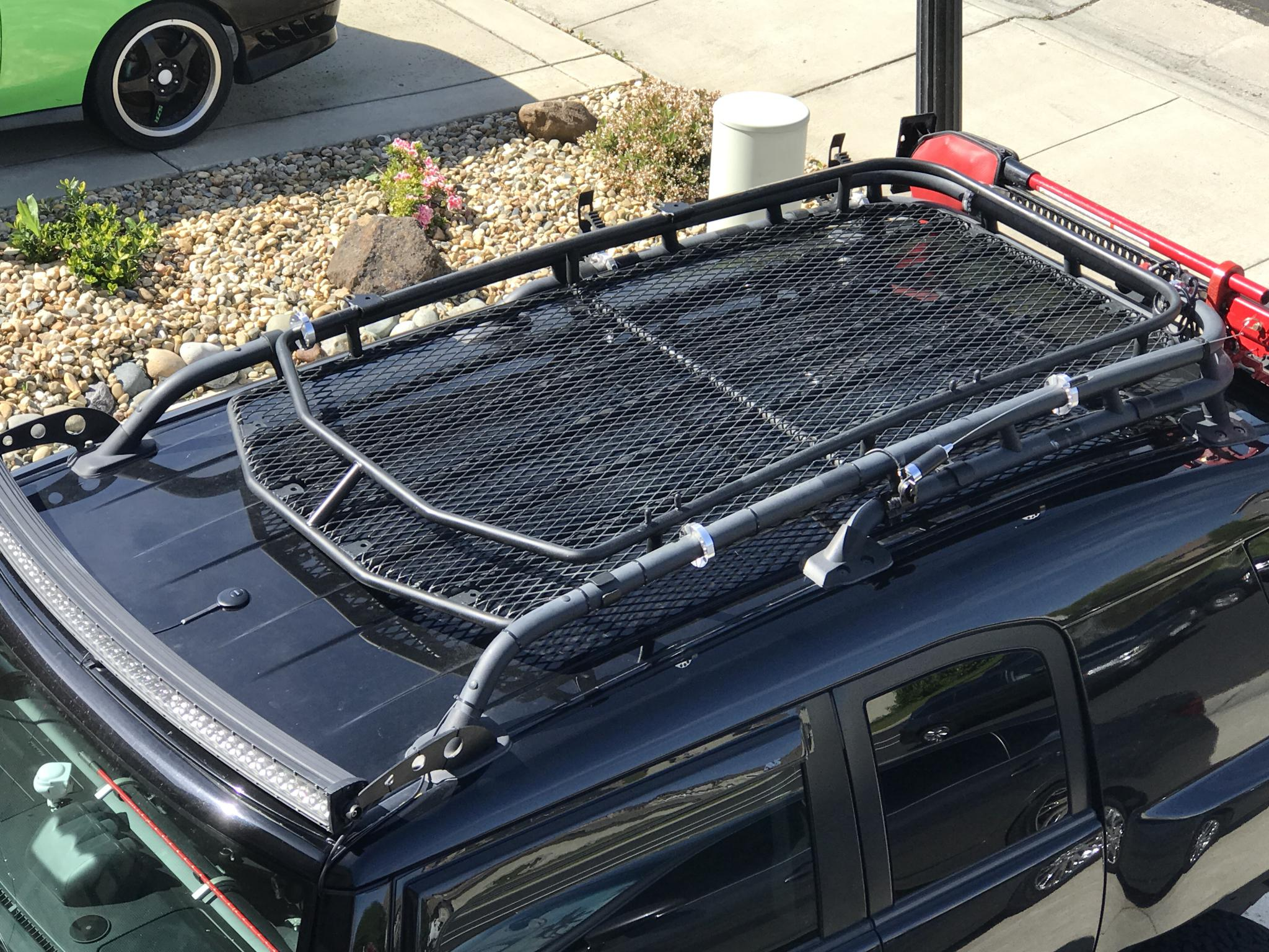 Custom Roof Rack Basket For Sale Includes Stock Rack