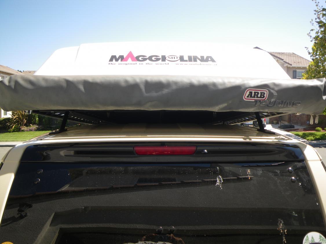 Stop Sagging Awning Baja Flat Rack Amp Arb Toyota Fj