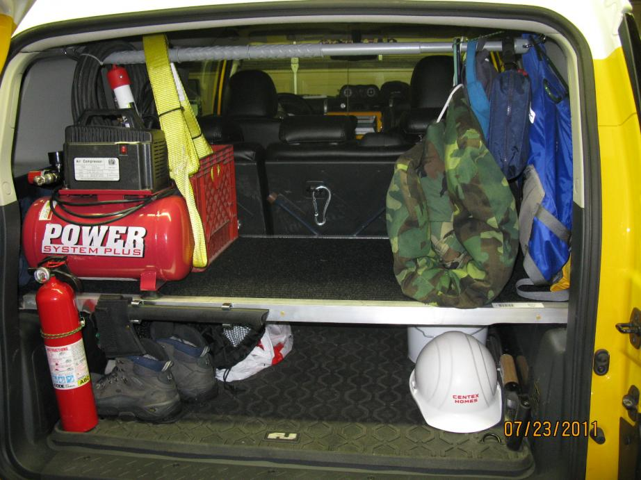 New Storage Idea Toyota Fj Cruiser Forum