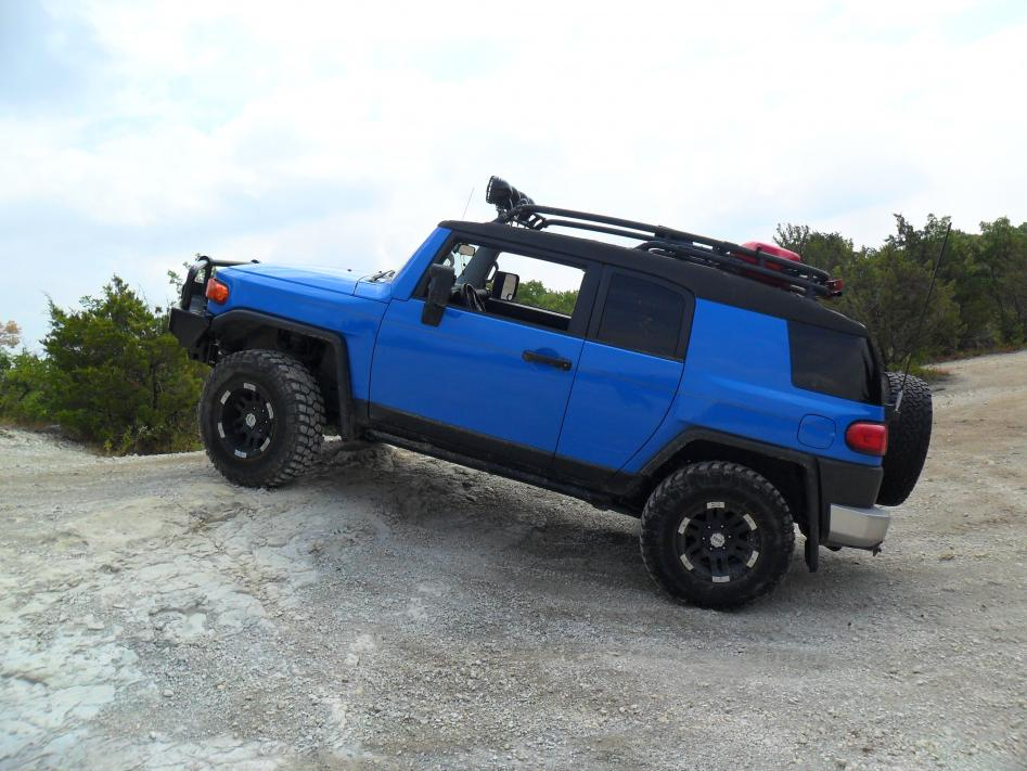 The Official Cavalry Blue FJ Photo Thread  Page 4  Toyota FJ