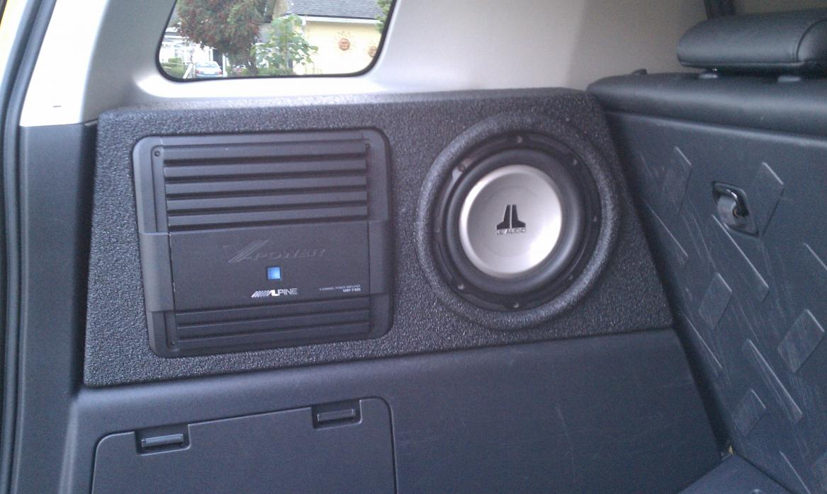 Question About Wiring Sub In Oem Box Toyota Fj Cruiser Forum A Subwoofer Click Image For Larger Version Name 3 Views 1654 Size