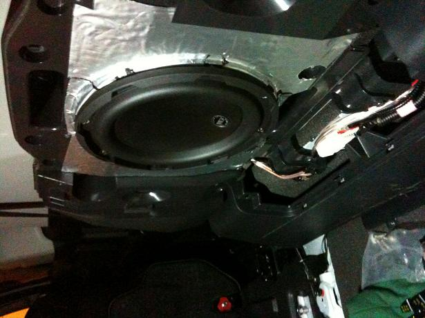 sounds system upgrade concealed install toyota fj cruiser forum click image for larger version sub jpg views 2926 size 52 5