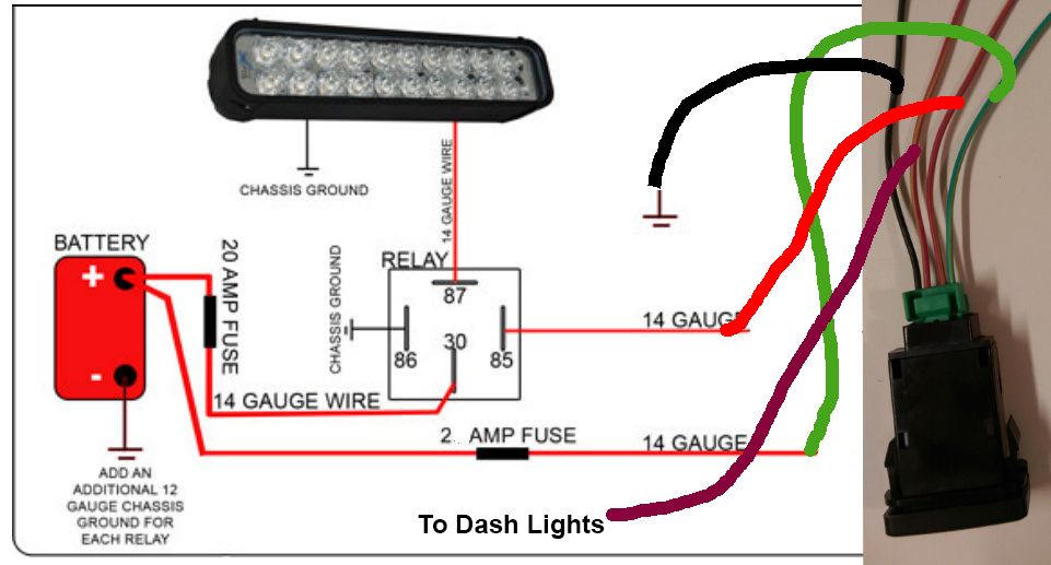 Light bar switch wiring diagram wiring diagrams schematics need help wiring push button light switch fro lid light bar toyota click image for larger version name sylszch jpg views 10018 size 195 3 light bar switch cheapraybanclubmaster Images