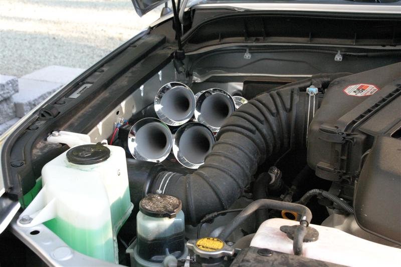 Another Air Horn Installation Toyota Fj Cruiser Forum