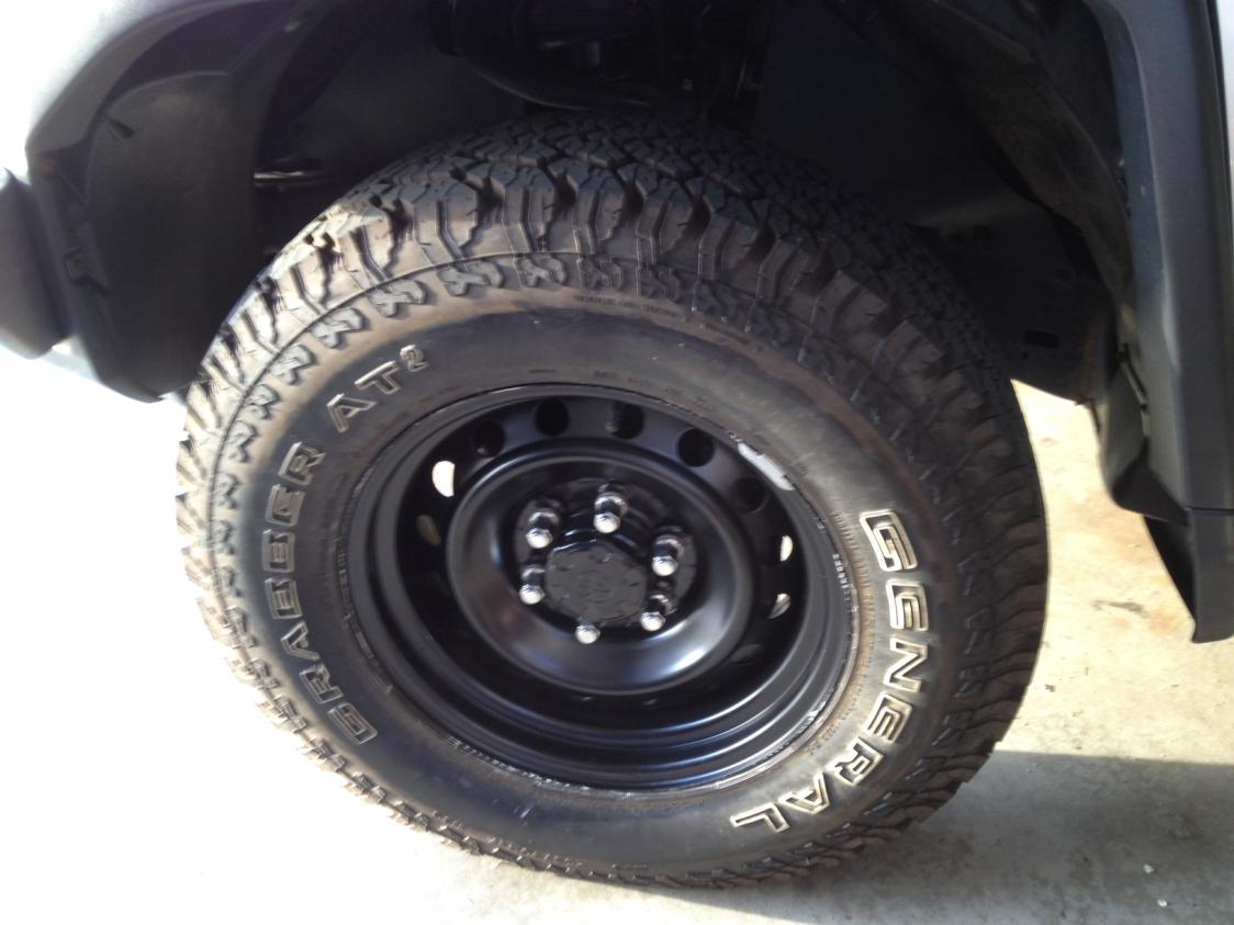 Wrong Center Caps For Oem Steel Wheels Toyota Fj