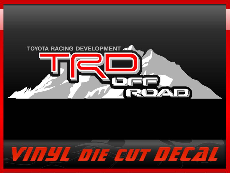 Fj Cruiser Sticker >> TRD Mountain decal - Toyota FJ Cruiser Forum